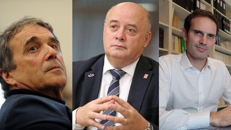 Jean-Pierre Dartevelle, Bernard Giudicelli et Alexis Gramblat