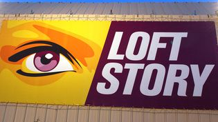 "Le logo de ""Loft Story"". Photo d'illustration. (BERTRAND GUAY / AFP)"
