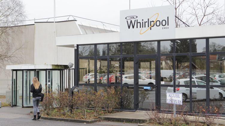 L'usine Whirlpool d'Amiens, en janvier 2017. (TOUCHART / MAXPPP)