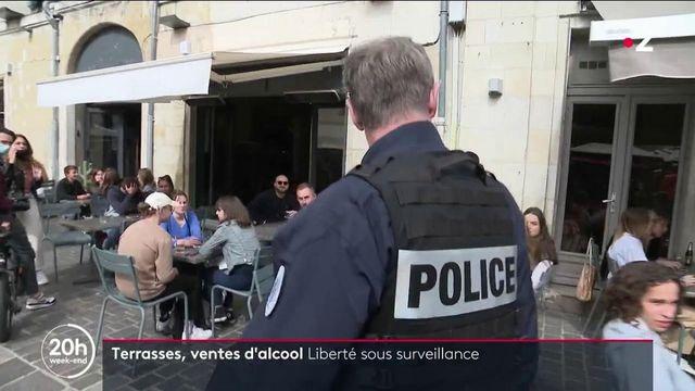 Réouverture des terrasses : une liberté sous surveillance à Tours