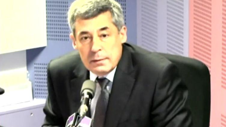 Henri Guaino était l'invité de France Culture, le 27 mars 2012. (CAPTURE FTVI)