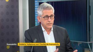 Frédéric Valletoux, président dela Fédération hospitalière de France invité de franceinfo. (FRANCEINFO / RADIOFRANCE)