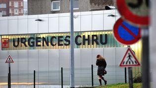 Les urgences du CHU de Lille (Nord), le 24 janvier 2012. (PHILIPPE HUGUEN / AFP)