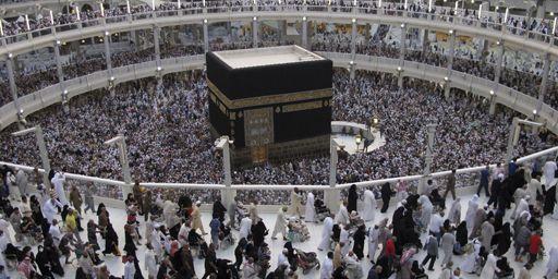 Pèlerinage à la Mecque, la ville natale du prophète Mohammed, en Arabie Saoudite. (Reuters / Muhammad Hamed )