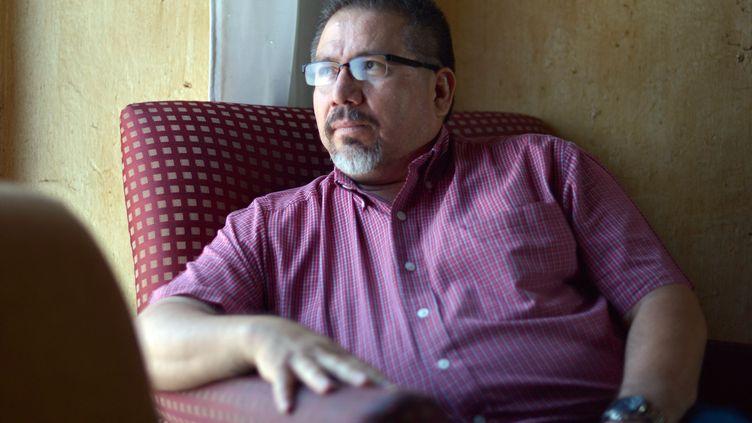Javier Valdez, photographe de l'AFP, au Mexique, le 23 mai 2013. (FERNANDO BRITO / AFP)