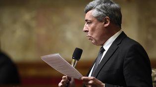 Le député UMP Henri Guaino à l'Assemblée nationale, le 12 novembre 2014 (ERIC FEFERBERG / AFP)