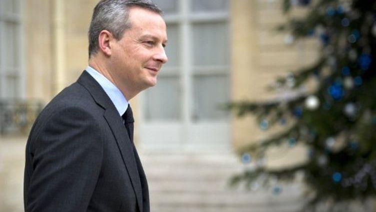 """Pour Bruno Le Maire, ministre de l'Agriculture, Le FN est une """"vraie menace"""" pour l'UMP (LIONEL BONAVENTURE / AFP)"""