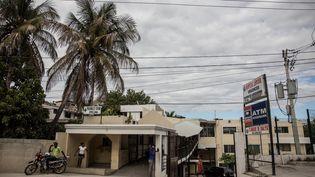 Un hôpital de Port-au-Prince, le 25 novembre 2019. (VALERIE BAERISWYL / AFP)