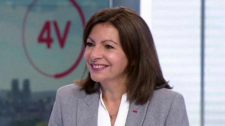 """Présidentielle 2022 : """"La décision d'une candidature doit se prendre collectivement"""", affirme Anne Hidalgo (FRANCE 2)"""