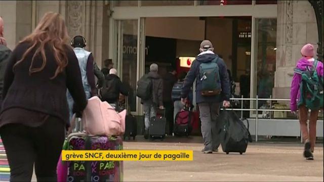 Un samedi très perturbé par la grève SNCF