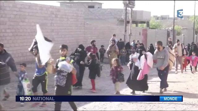 Mossoul : inquiétude pour les civils pris au piège au cœur des combats