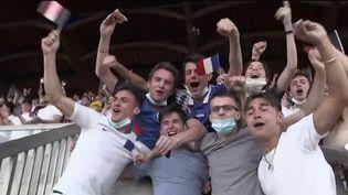 Euro 2021 : de la joie et des déceptions pour les supporters des Bleus (FRANCE 2)
