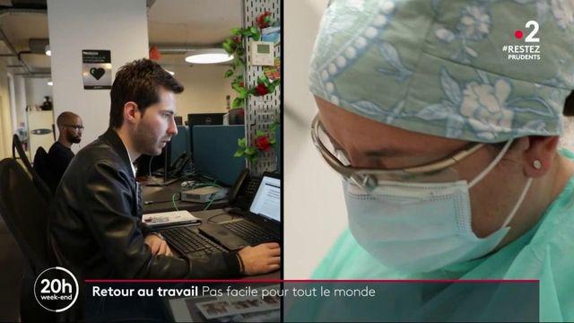 Déconfinement : un retour au travail plus ou moins bien vécu par les Français