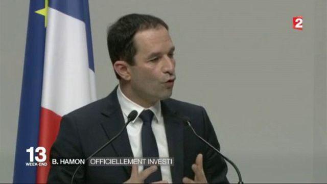 Benoît Hamon : officiellement investi par le PS