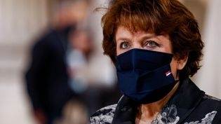 La ministre de la Culture Roselyne Bachelot, le 11 novembre 2020. (LUDOVIC MARIN / AFP)