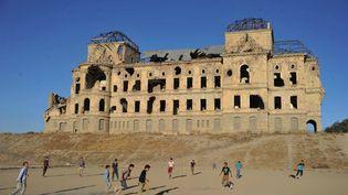 Le palais royal de Dar ul-Aman à Kaboul  (Noorullah Shirzada / AFP)