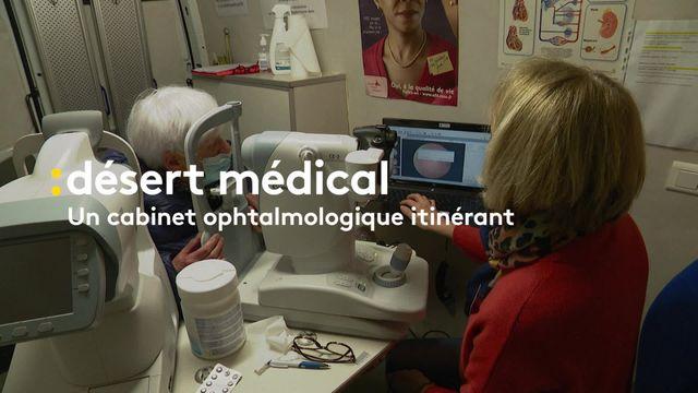Désert médical : un camion de dépistage de la rétinopathie diabétique sillonne la Nièvre