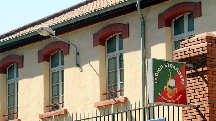 La façade de la caserne de la légion étrangère, où Francisco Benitez s'est suicidé, à Perpignan. ( MAXPPP)