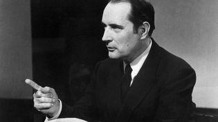François Mitterrand, réélu député de la Nièvre aux législatives le 30 juin 1968, s'était inquiété de la majorité absolue obtenue par l'UDR à l'Assemblée nationale. (ORTF)