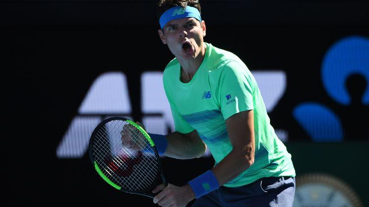 Le joueur canadien Milos Raonic (SAEED KHAN / AFP)