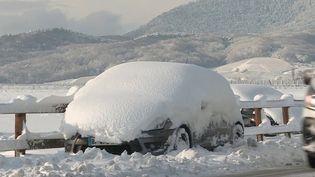 Intempéries : le Grand Est sous la neige (France 2)