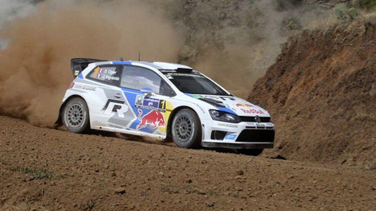 Sébastien Ogier vainqueur du rallye du Mexique (ANTONIO SANCHEZ FLORES / MEXSPORT)