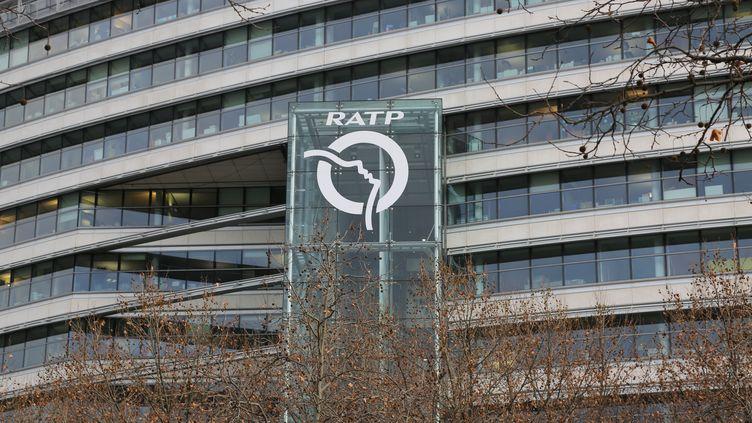 Le siège de la RATP, à Paris, le 15 décembre 2014. (  MAXPPP)