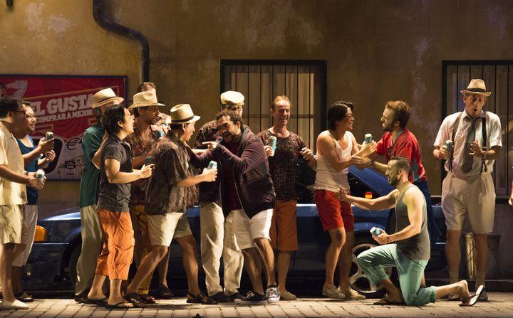 Des acteurs-chanteurs formidables de présence  (Bernard Coutant/Opéra national de Paris)