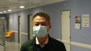 Laurent Chu, premier patient Covid de France, pris en charge à Bordeaux. (EZEQUIEL FERNANDEZ / RADIOFRANCE)