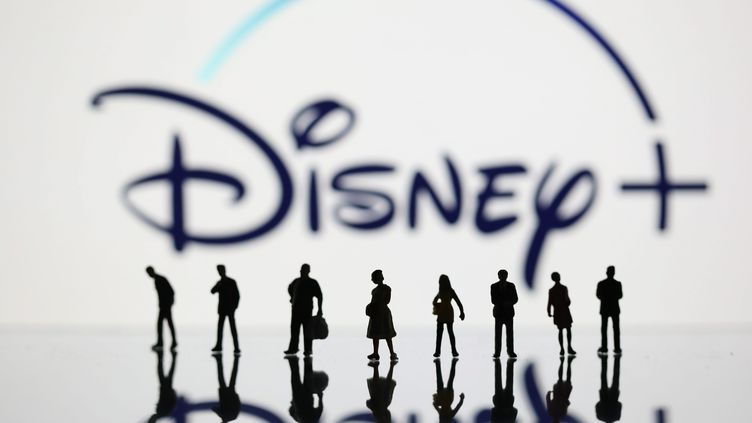 Logo de Disney+ (ARNAUD JOURNOIS / MAXPPP)