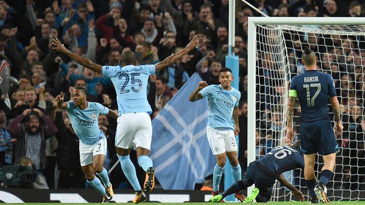 Manchester City continue sa série en venant à bout de Naples (2-1). (OLI SCARFF / AFP)