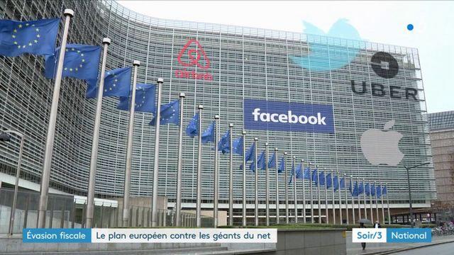Évasion fiscale : le plan européen contre les géants du net