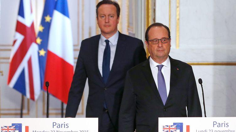 (La lettre de David Cameron à Donald Tusk © REUTERS/Dylan Martinez)