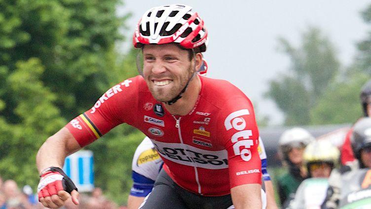 Le Belge Jonas Van Genechten (Lotto-Belisol) (KURT DESPLENTER / BELGA MAG)