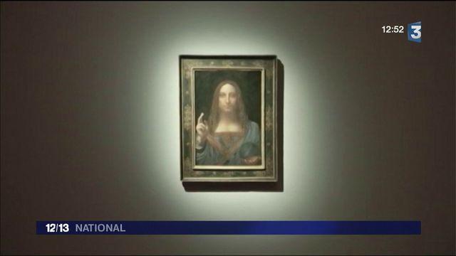"Léonard de Vinci : son ""Salvator Mundi"" vendu à 382 millions d'euros"