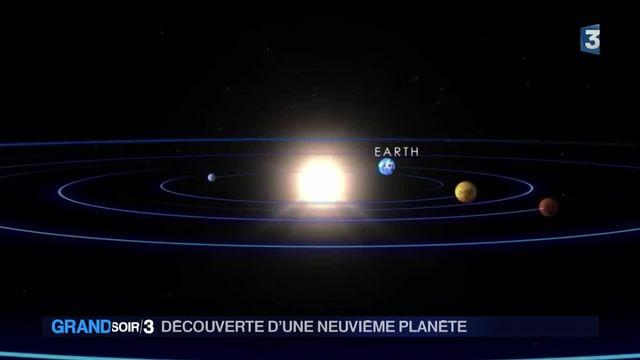 Découverte d'une neuvième planète dans le système solaire