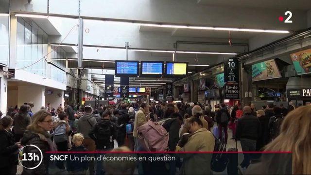 Grève des transports : en plan d'économies annoncé par la SNCF