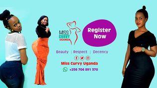 Une affiche du concours de beauté destinée aux femmes rondes (Capture d'écran de la page Facebook de Miss Curvy, Ouganda)