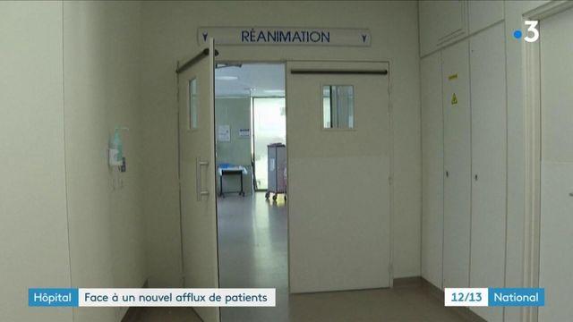 Covid-19 : les hôpitaux sous haute tension en Ile-de-France