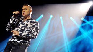 Morrissey sur scène à Los Angeles, le 2 mars 2013  (Kevin Winter / Getty Images / AFP)