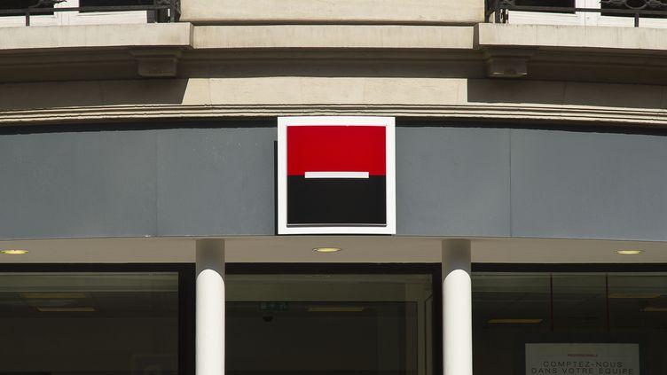 Le logo de la Société Générale, le 7 janvier 2012 à Paris. (NATHAN ALLIARD / AFP)