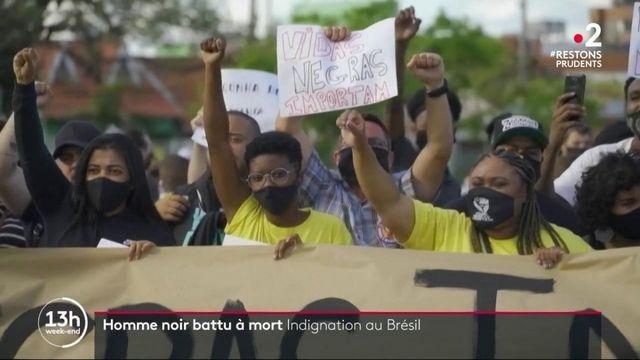 Brésil : les supermarchés Carrefour pris pour cible après la mort d'un homme d'un homme noir