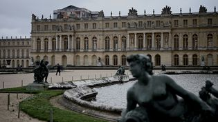 Le parc du Chateau de Versailles, le 14 mars 2020. (PHILIPPE LOPEZ / AFP)