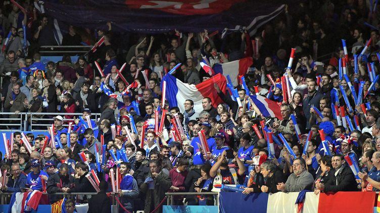 Pour cette 25e édition du Mondial de handball (11-29 janvier), 500.000 personnes sont attendues dans les huit salles de la compétition (Lille, Paris, Nantes, Montpellier, Metz, Rouen, Albertville, Brest). Ci-contre lors de la rencontre France-Japon à Nantes. (JEROME FOUQUET / MAXPPP)