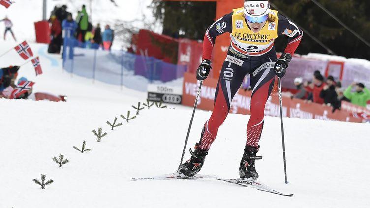 Heidi Weng sacrée à Falun (Suède) (ANDREAS SOLARO / AFP)