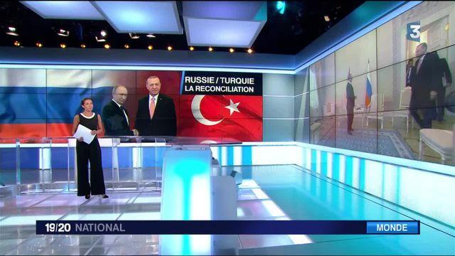 Russie-Turquie : la réconciliation