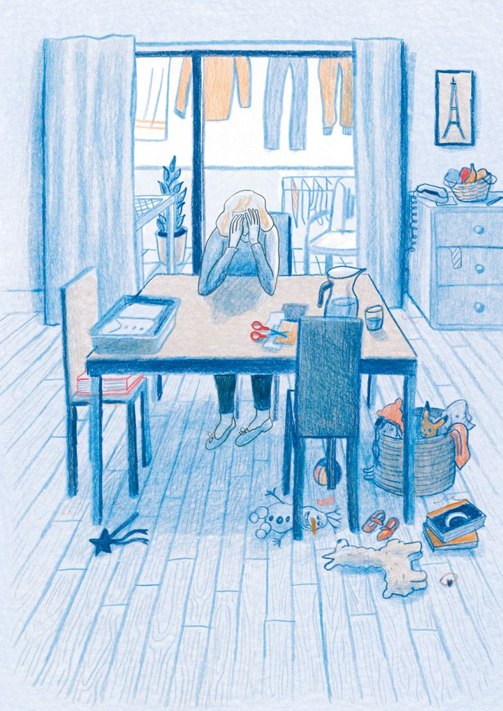 """Chez toi. Athènes 2016"", de Sandrine Martin, page208 (Sandrine Martin / Casterman)"