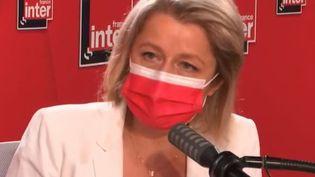 Barbara Pompili était l'invitée de France Inter mardi 15 juin. (FRANCE INTER / RADIO FRANCE)