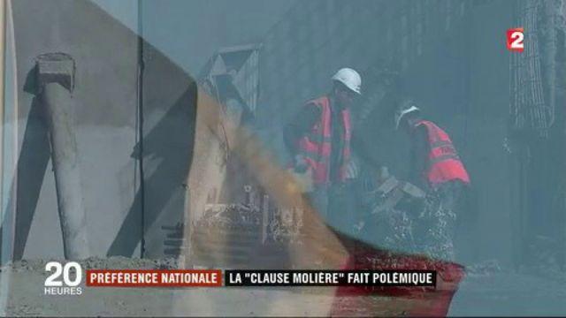 Clause Molière : polémique sur le français obligatoire sur les chantiers
