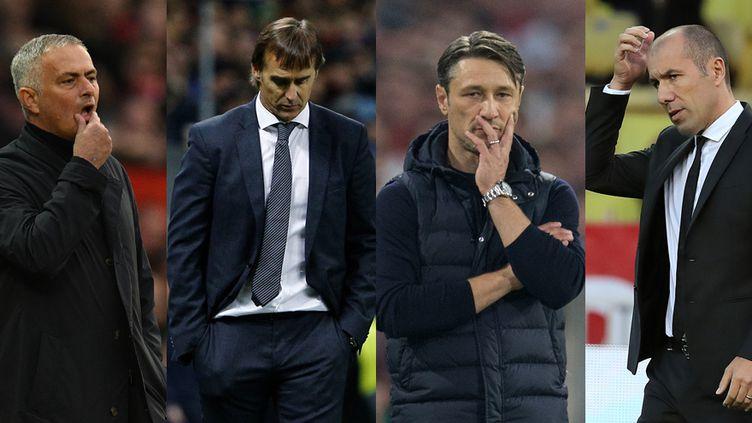 Mourinho, Lopetegui, Kovac et Jardim, quatre entraîneurs dans une mauvaise passe